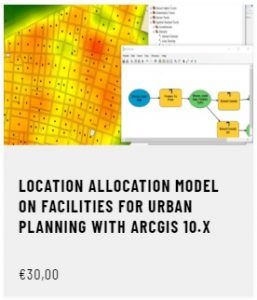 Location Allocation Model on facilities for urban planning with ArcGIS 10.x
