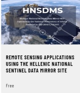 Remote Sensing Applications using the Hellenic National Sentinel Data Mirror Site