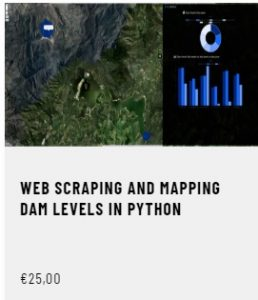 Web Scraping and Mapping Dam Levels in Python